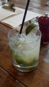The Caipirinha - lots of lime!